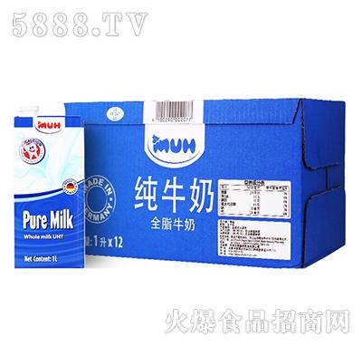 甘蒂牧场全脂牛奶1Lx12产品图