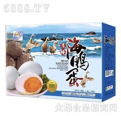 宏易堂泥腌海鸭蛋礼盒30枚礼品产品图