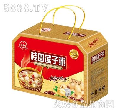 宏易堂桂圆莲子八宝粥(礼盒)产品图