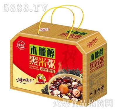 宏易堂木糖醇黑米粥产品图