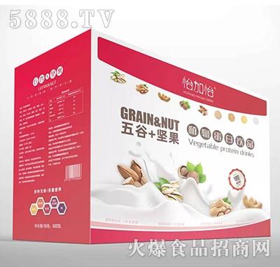 怡加怡五谷坚果植物蛋白饮料箱