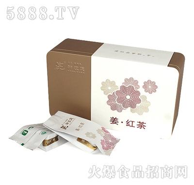神农氏姜红茶铁盒