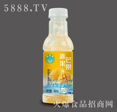 冰果蜂蜜芒果饮品445ml