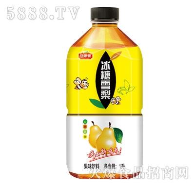 伊思源冰糖雪梨果味饮料1L