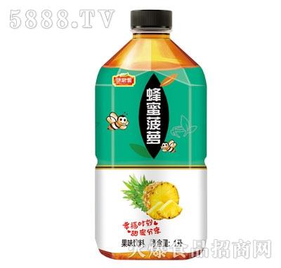 伊思源蜂蜜菠萝果味饮料1L