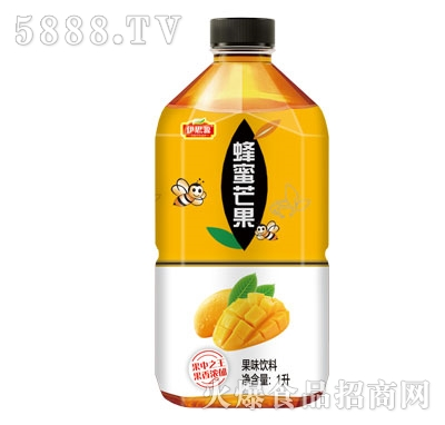 伊思源蜂蜜芒果果味饮料1L
