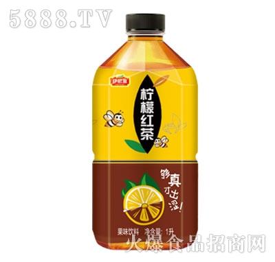 伊思源柠檬红茶果味饮料1L