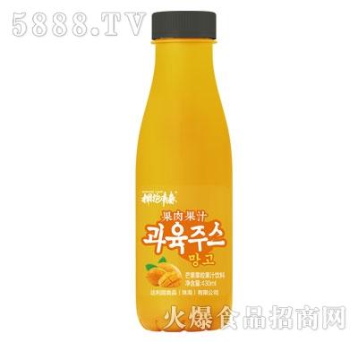 拥抱青春芒果果粒果汁饮料430ml