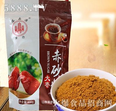 塔鑫源大枣赤砂糖400g