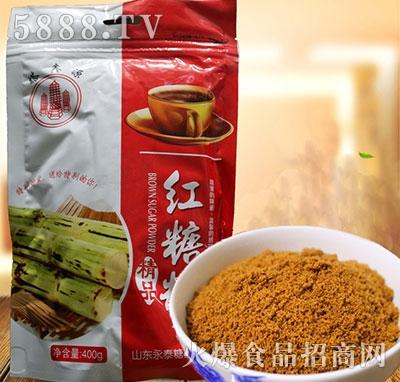 塔鑫源红糖粉400g