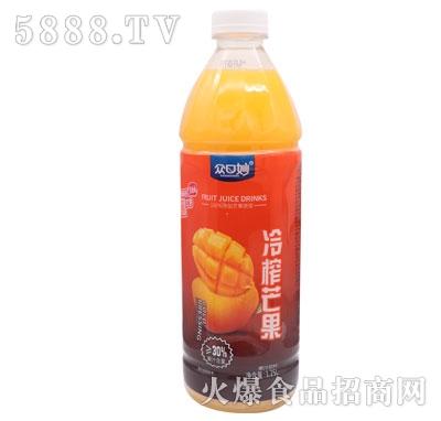 �口妙冷榨芒果汁1.25L