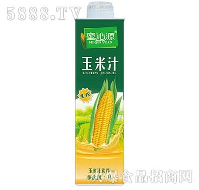 蜜沁源玉米汁1L