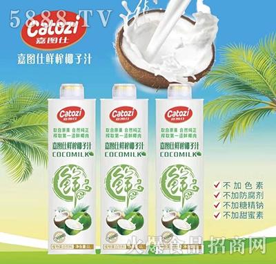 嘉图仕鲜榨椰子汁1L