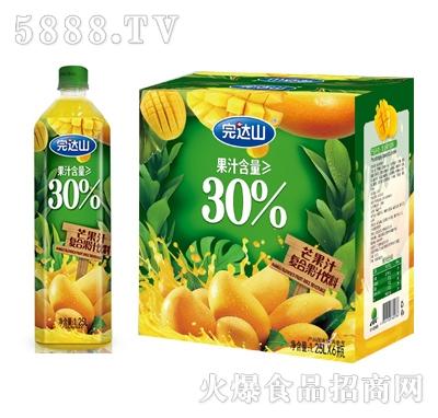 完�_山芒果汁�秃瞎�汁1.25Lx6瓶