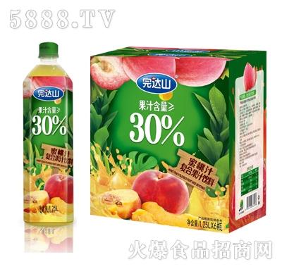 完�_山蜜桃汁�秃瞎�汁1.25Lx6瓶