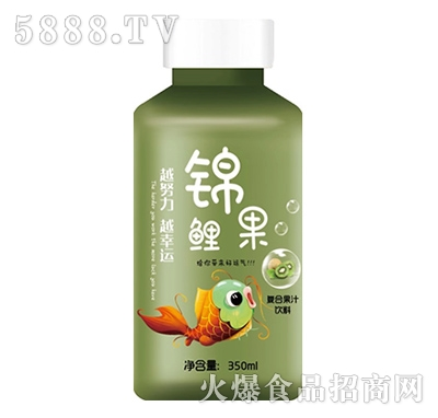 锦鲤果猕猴桃益生菌发酵复合果汁350ml产品图