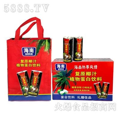 伊仕复原椰汁植物蛋白饮料(礼盒)