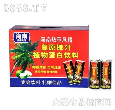 伊仕复原椰汁植物蛋白饮料(箱)
