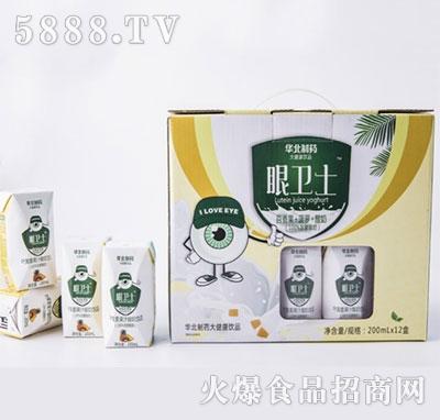 华北制药眼卫士百香果+菠萝+酸奶200mlx12盒