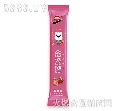 金义棒草莓味水果饮料80g