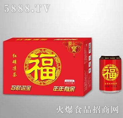 红罐凉茶植物饮料
