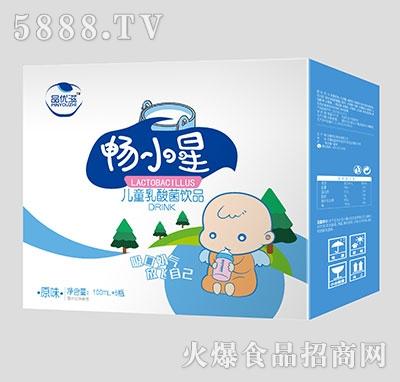 品优滋畅小星儿童乳酸菌饮品原味100ml×5瓶