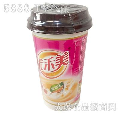 优禾美奶茶草莓味