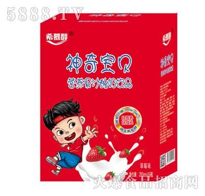 希慕醇营养果汁酸奶饮品草莓味200mlX16