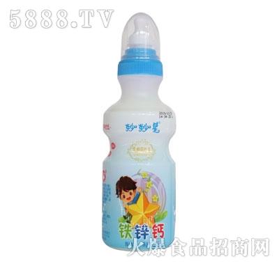 妙妙星铁锌钙乳酸菌饮品原味200ml