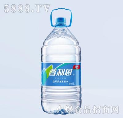 普利思4.5L饮用天然矿泉水产品图