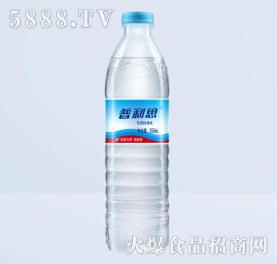 普利思533mL饮用纯净水产品图
