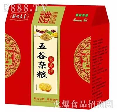 解味麦香五谷杂粮营养饼