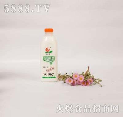 壹鹏牧场鲜奶1000ml