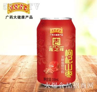 王老吉枸杞山枣发酵植物饮料310ml