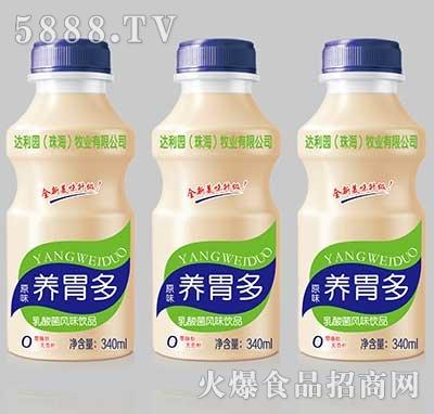 达利园养胃多乳酸菌风味饮品原味340ml