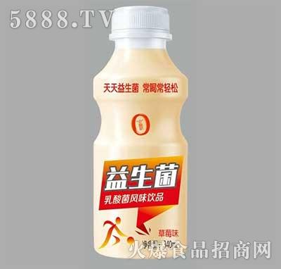 达利园益生菌乳酸菌饮品草莓味340ml