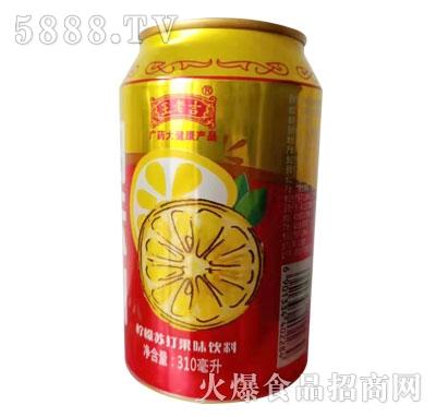 王老吉柠檬苏打果味饮料(罐)