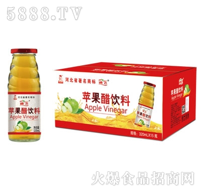 通飞苹果醋饮料320mlX15