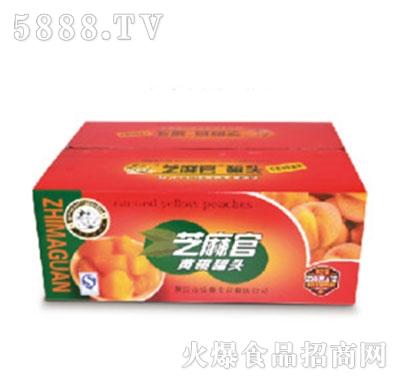 芝麻官黄桃罐头产品图