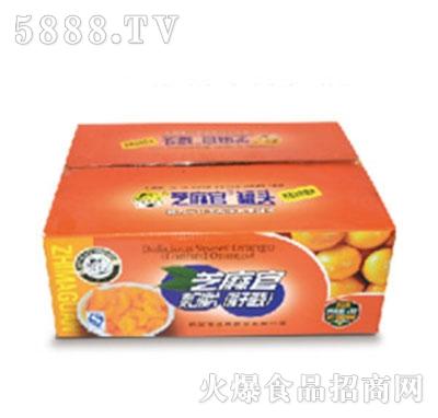 芝麻官橘子罐头产品图