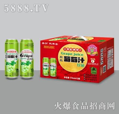 嘉泓葡萄汁310mlX12瓶