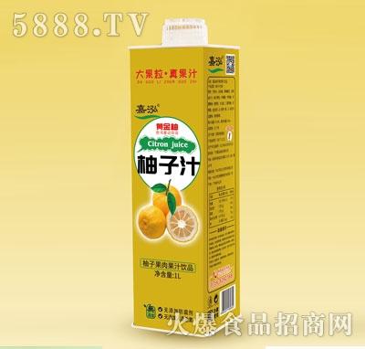 嘉泓柚子汁1L