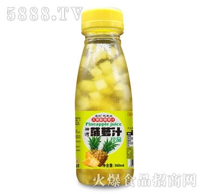 嘉泓甄果姿菠萝汁360ml