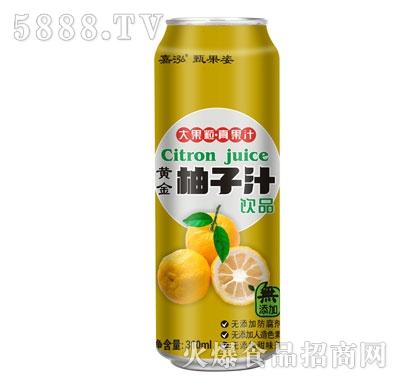嘉泓柚子汁310ml