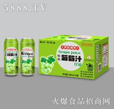 嘉泓葡萄汁310mlX15