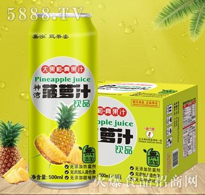 嘉泓菠萝汁500mlX15