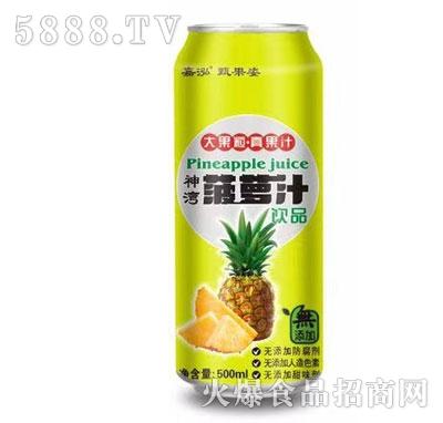 嘉泓菠萝汁500ml