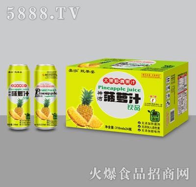 嘉泓菠萝汁310mlX24