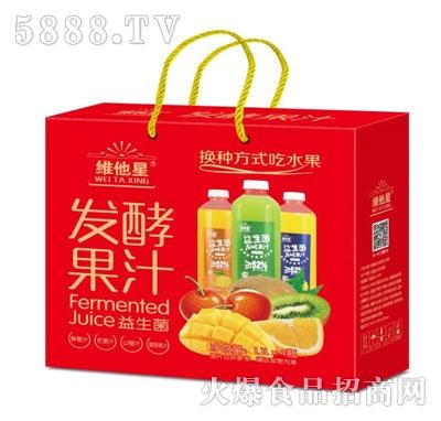 维他星益生菌发酵果汁1.1LX4