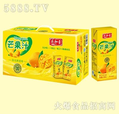 乐加壹芒果汁